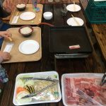 東京ドイツ村でバーベキューしました。値段は家族4人で約6000円。満足満足。